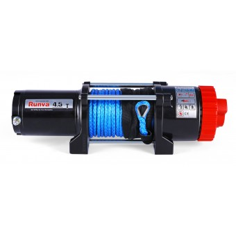 Runva EWT4500 Winch with Synthetic Rope - Caravan Hardware & Accessories