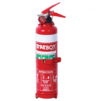 Fire Box 1kg Dry Chemical Powder ABE Fire Extinguisher - First Aid & Safety Equipment
