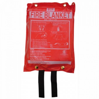 Fire Box Fire Blanket 1.8 x 1.2 m - First Aid & Safety Equipment