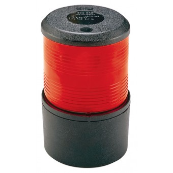 Perko Red Base Mount Navigation Light, 20m Vessels - Marine Navigation Lights