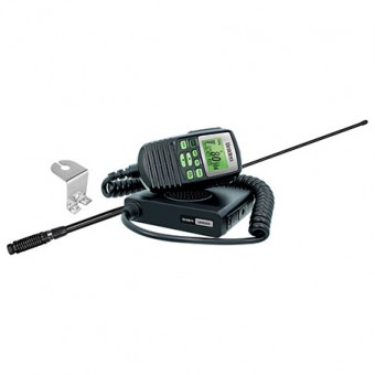 Uniden UH5060 Mini Compact UHF with Remote Speaker Mic & Antenna - Vehicle & Towing Accessories