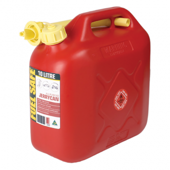 Fuel Safe 10 Litre All Plastic Jerry Can - Fuel tanks & Water tanks