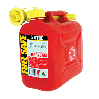Fuel Safe 5 Litre All Plastic Jerry Can - Fuel tanks & Water tanks