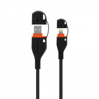 EcoXGear EcoXCable - Lightning to USB - Off Grid TV's & Accessories
