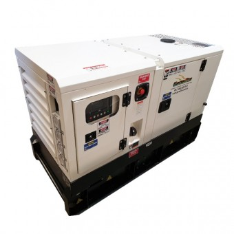 Genelite Heavy Duty 22kVA Single Phase Diesel Kubota Generator - SALE