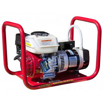 Genelite Honda 3.3kVA Generator Worksite Approved - Worksite Approved Petrol Generators