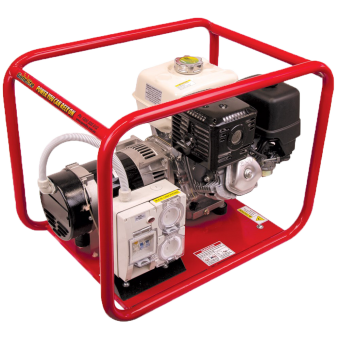 Powerlite Honda 6kVA Generator Worksite Approved
