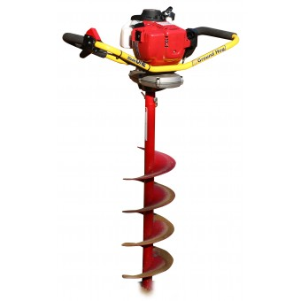 Crommelins Honda One-Man Post Hole Digger - Groundcare Equipment Tool - Best Seller