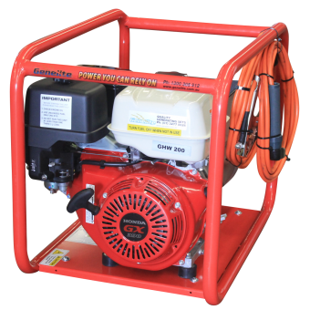 Genelite 7kVA Welder Generator Powered by Honda - Petrol Welder Generators