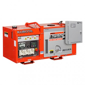 Kubota 8.8kva Lowboy Diesel Generator with AMF - Diesel Auto Start Generators For Mains Failure