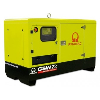 Pramac 14kVA Single Phase Star Series Perkins Diesel Generator - Generators & Power