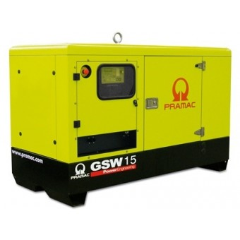 Pramac 9kVA Single Phase Star Series Perkins Diesel Generator - Stationary Generators