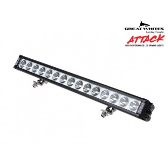 Great Whites 15 LED Attack Driving Light Bar - Root Catalog