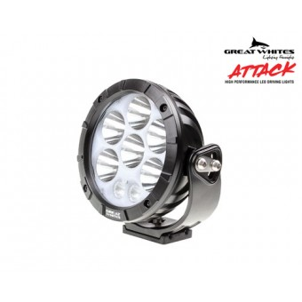 Great Whites Attack 170 Series Round LED Driving Light - Root Catalog
