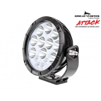 Great Whites Attack 220 Series Round LED Driving Light - Root Catalog