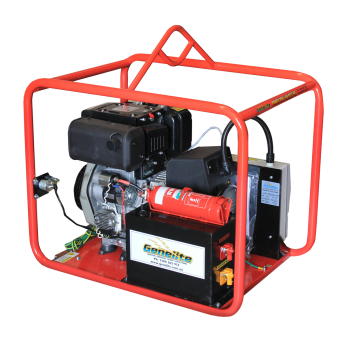 Genelite Diesel 6.5kVA Mine Spec Generator, Powered by Yanmar - BEST SELLERS