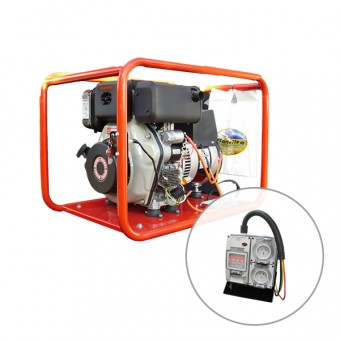 Genelite 6.5kVA Generator Worksite Approved with electric start powered by Yanmar - Root Catalog