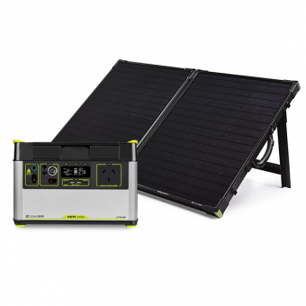 Goal Zero Yeti 1500X Lithium Portable Power Station + Boulder 100 Briefcase Pack - Solar Panel Bundles