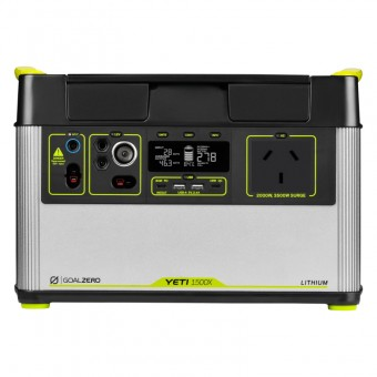 Goal Zero Yeti 1500X Lithium Portable Power Station - Power Packs & Battery Boxes