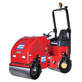Hoppt Ride-On Diesel Roller Kubota - 1620kg - Root Catalog