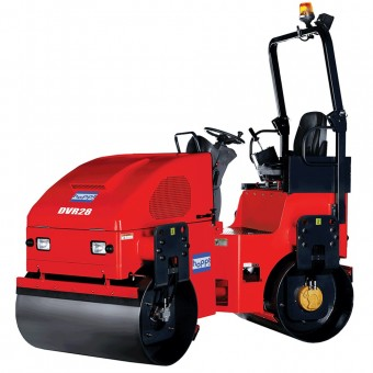 HA-DVR28 Hoppt Ride-On Diesel Roller Kubota - 2800kg