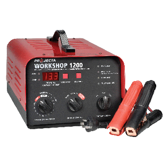 Projecta 6/12/24V Automatic & Manual 12 AMP 2 Stage Battery Charger - AC to DC Battery Chargers