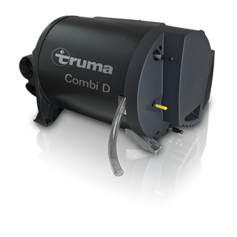 Truma Combi D 6 Kit, Diesel Heater / Hot Water System with Black Cowl - Caravan Diesel Heaters