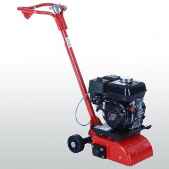 Hoppt Scarifier Petrol Honda GX160 - 200mm with Cage - Groundcare, Concreting & Tools SALE