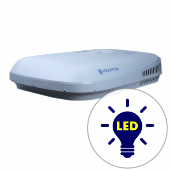 Houghton Belaire HB3400 Reverse Cycle Roof Top Air Conditioner with LED Light - Caravan Roof Top Air Conditioners