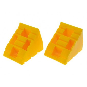 Hulk 4X4 Levelling Ramp Chocks, 2 Pack - Caravan Hardware & Accessories