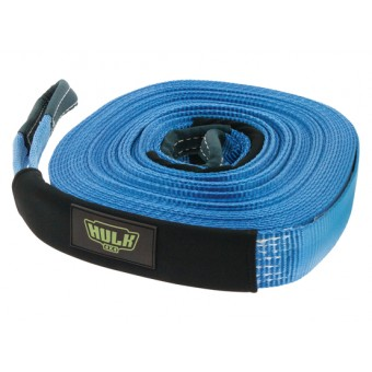 Hulk 4X4 5,000kg Winch Extension Strap, Blue - Root Catalog