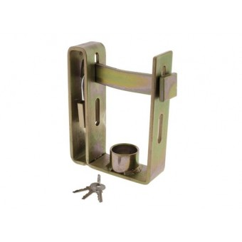 Hulk 4X4 Trailer Coupling Locks - Caravan Hardware & Accessories