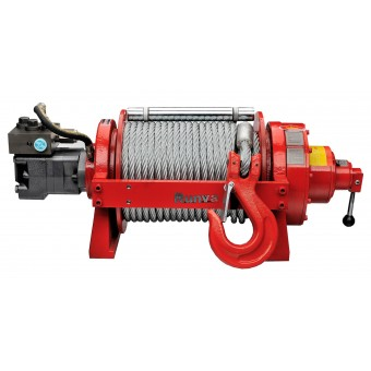 Runva HWP20000Y2P Single Speed Winch with Steel Cable - Caravan Hardware & Accessories