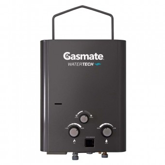 Gasmate Water-Tech 5 Litre Water Heater with Pump & Shower Attachments - Root Catalog