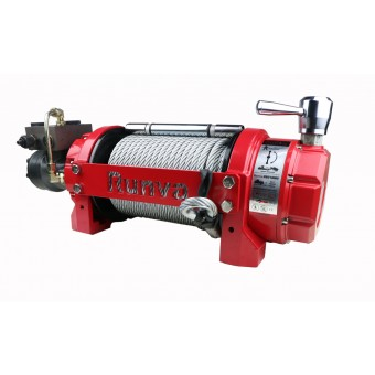 Runva HWV15000 Winch with Steel Cable - Caravan Hardware & Accessories