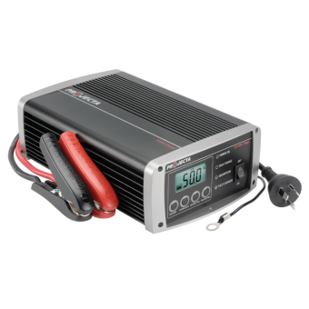 Projecta 12V Automatic 50A 7 Stage Workshop Battery Charger - AC to DC Battery Chargers