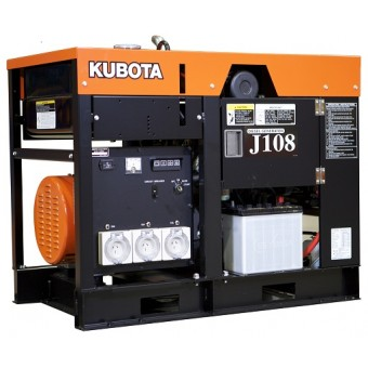 Kubota 8kva Single Phase Diesel Generator J108  - Stationary Generators