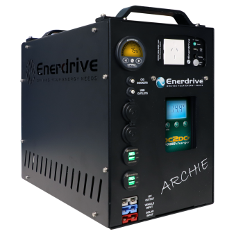 Enerdrive The Archie Portable Power System - Battery Chargers