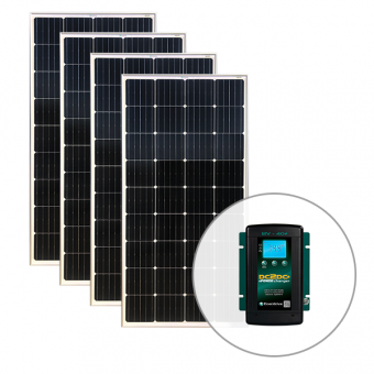 Enerdrive ePOWER 720W Solar and 40A DC to DC Charger Pack - Camping Solar Panels