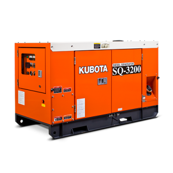 Kubota 20kva Three Phase Diesel Generator SQ3200 - Up to 50kVA Three Phase Stationary Diesel Generators