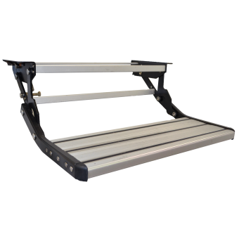 NCE Caravan Single Steps 600 mm Wide - Caravan Steps