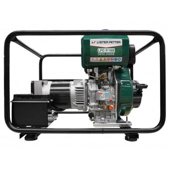 Gentech 7 kVA 3 Phase Lister Petter Powered Diesel Generator - Root Catalog
