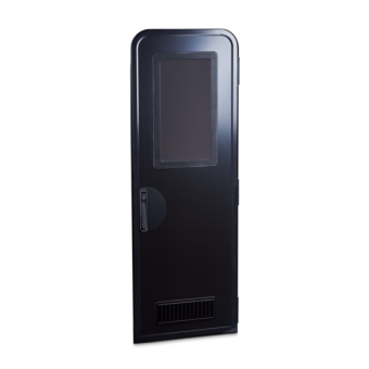 Dometic Columbia Caravan Door H1850 mm RH black/black