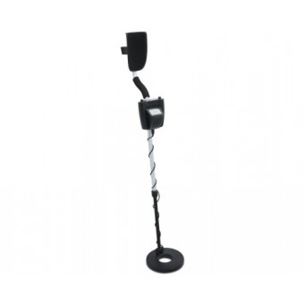 DZ Black & Silver Metal Detector with LCD Screen - Sports & Leisure