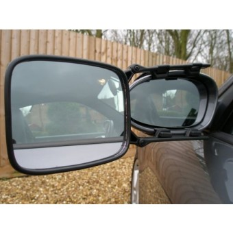 Milenco MGI Safety Towing Mirror Convex Single - Vehicle Mirrors