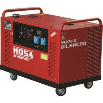 Mosa 4.9kva Honda Silenced Petrol Auto Start Generator GE 4500 HSX-EAS - Petrol Auto Start Generators For Mains Failure
