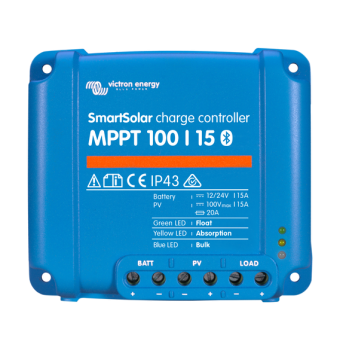 Victron SmartSolar MPPT 100/15 Charge Controller - Root Catalog