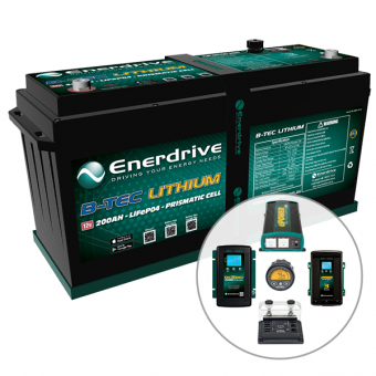 Enerdrive Ultimate Off-Grid 4x4 Bundle - BEST SELLERS