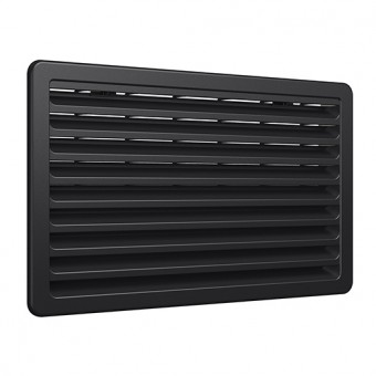 Thetford, N3141 Fridge Vent, Black - Root Catalog