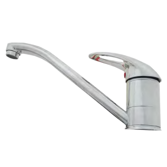 NCE Long 220mm Flick Mixer Tap - Caravan Taps & Accessories